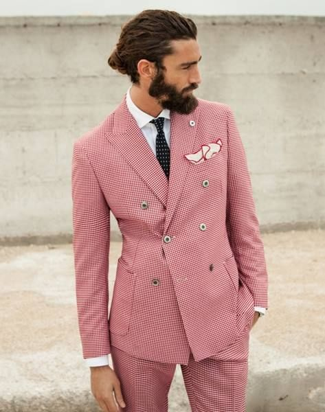 pink men fashion