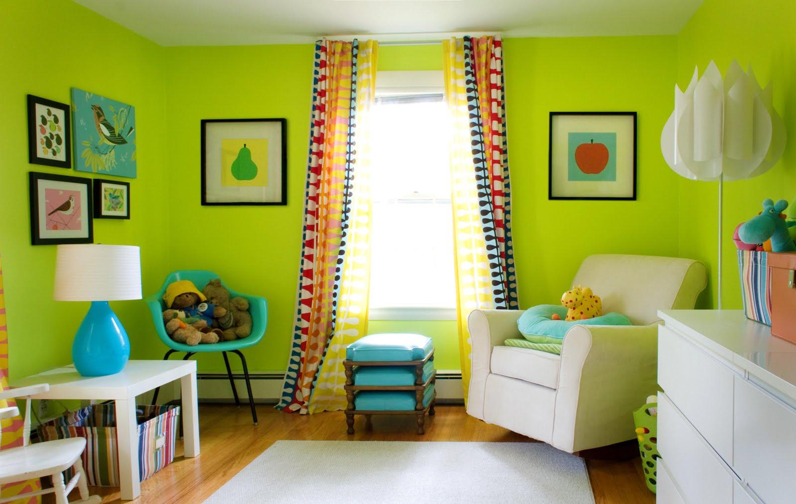 Cum sa zugravesti camerele din casa in functie de psihologia culorii